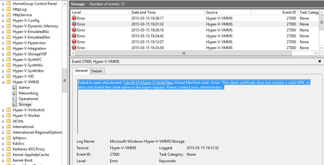 how to detect error in creating files